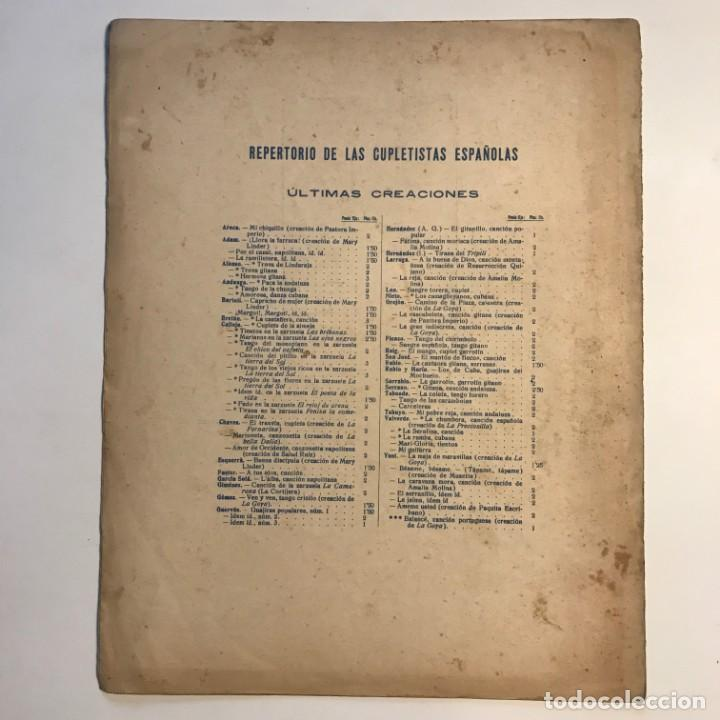 Partituras musicales: Peñas arriba. Música del maestro Larruga 26,3x33 cm - Foto 4 - 159446714