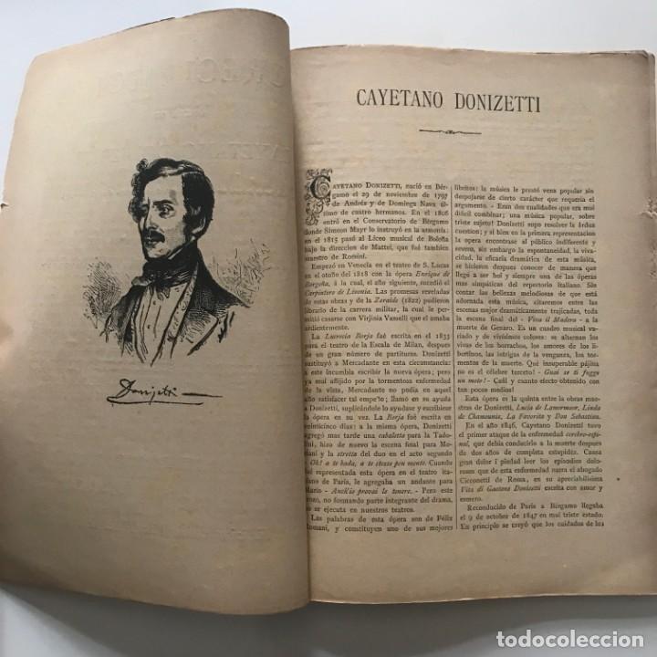 Lucrecia Borja. Opera de Cayetano Donizetti. Edición económica Ricordi. - 159591322