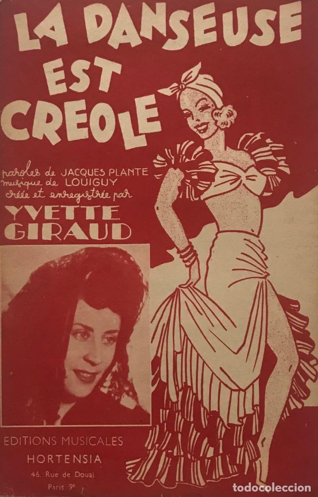 La danseuse est Créole 17,5x26,9 cm