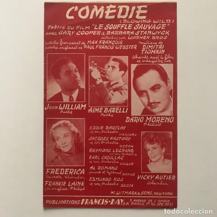 Comedie 17,5x27,5 cm