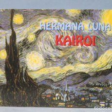Partitions Musicales: HERMANA LUNA. KAIROI. Lote 160030154