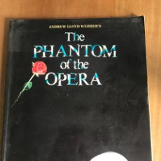 Partituras musicales: THE PHANTOM OF THE OPERA. PARTITURAS. EN INGLÉS. Lote 160332778
