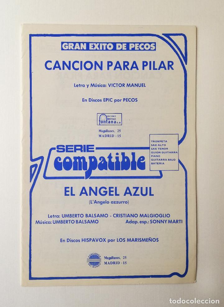 PARTITURAS.PECOS/LOS MARISMEÑOS (Música - Partituras Musicales Antiguas)