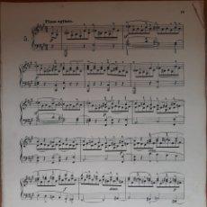 Partituras musicales: MÉTODO PARA PIANO. Lote 162140233