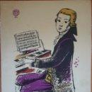Partituras musicales: PARTITURA CÉLEBRE MINUETO DON JUAN PUBLICIDAD FARMACÉUTICA MUY RARO. Lote 162249612