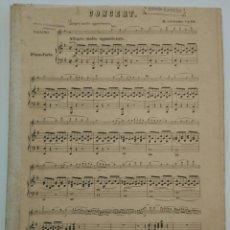 Partituras musicales: PARTITURA DE MENDELSSOHN - CONCIERTO PARA VIOLÍN Y PIANO. ALFREDO LARROCHA.. Lote 162295194