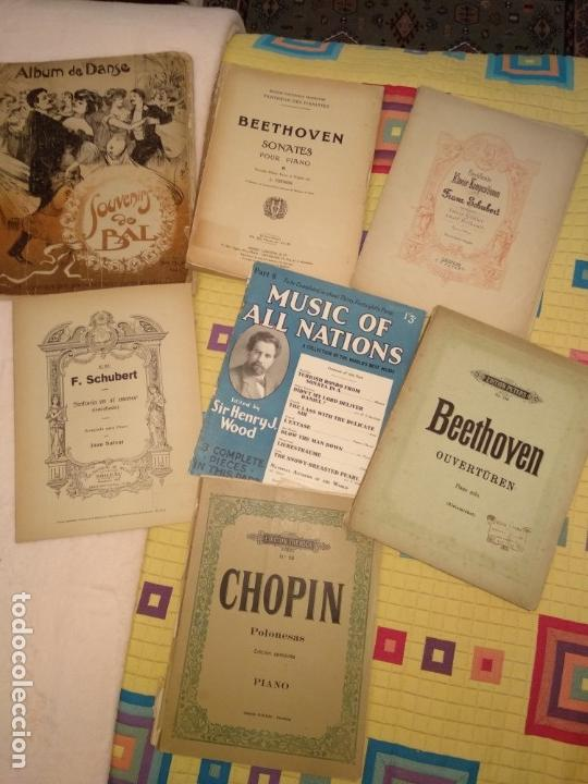 Partituras musicales: Lote partituras - Foto 3 - 160949510