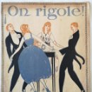 Partituras musicales: ON RIGOLE. ONE STEP CLIFTON WORSLEY 1918. Lote 165385254