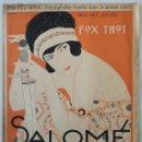 Partituras musicales: SALOMÉ. FOX TROT ROBERT STOLZ 1920. Lote 165387382