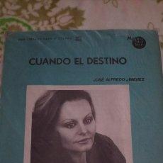 Partituras musicales: ROCIO DURCAL PARTITURA. Lote 167010909