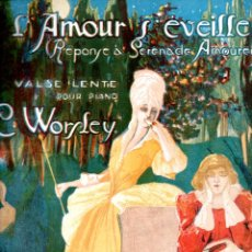 Partituras musicales: CLIFTON WORSLEY : L' AMOUR S'EVEILLE (IBERIA MUSICAL). Lote 167590992