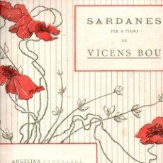 Partituras musicales: VICENS BOU : L'ANELL DE PROMETATGE - SARDANA (MUSICAL EMPORIUM). Lote 167612412