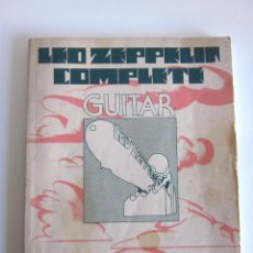 Partituras musicales: LED ZEPPELIN COMPLETE GUITAR USA 1975 PARTITURAS PARA GUITARRA DE SUS CANCIONES. Lote 167938808