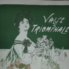 Partituras musicales: VALSE TRIOMPLALE PARTITURA ANTIGUA. Lote 168868880