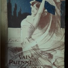 Partituras musicales: PARTITURA VALSE PAINE. Lote 168869174