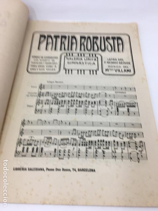 Partituras musicales: PARTITURAS, GALERIA SALESIANA DE ZARZUELAS MORALES Y CANTOS RECREATIVOS, FESTIVALES GIMNASTICOS - Foto 3 - 170109252
