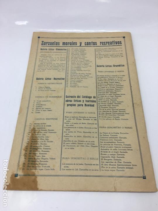 Partituras musicales: PARTITURAS, GALERIA SALESIANA DE ZARZUELAS MORALES Y CANTOS RECREATIVOS, FESTIVALES GIMNASTICOS - Foto 4 - 170109252
