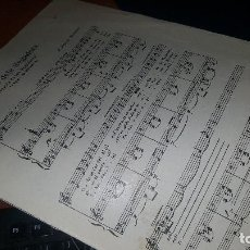 Partituras musicales: CANÇO DELS SEGADORS A LA VIRGEN DE MONTSERRAT, BRUNET RECASENS, 1920. Lote 170178964