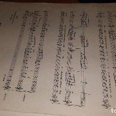 Partituras musicales: GUERRA CIVIL, HIMNO DE LOS CRUZADOS, LETRA J. MARTINEZ Y MUSICA DE ZUBIZARRETA, 1939. Lote 170179872