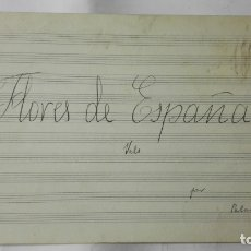 Partituras musicales: ANTIGUA PARTITURA, FLORES DE ESPAÑA VALS POR PALAU, 4 PAGINAS. Lote 170354424