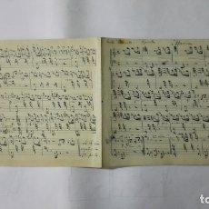 Partituras musicales: ANTIGUA PARTITURA, MARIA POR TEXIDOR, 4 PAGINAS. Lote 170354988