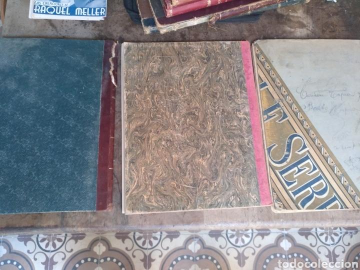 Partituras musicales: Lote 3 libros música solfeo piano antiguos - Foto 8 - 170920450