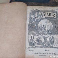 Partituras musicales: LIBRO PARTITURAS MUSICALES LA GRAN VÍA CÁDIZ.. Lote 170930078