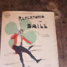 Partituras musicales: PARTITURA REPERTORIO DE BAILE. CASA DOTÉSIO. . Lote 170938675
