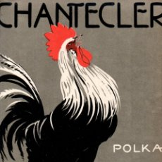 Partituras musicales: MARTORELL : CHANTECLER - POLKA (DOTESIO). Lote 171225759