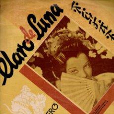 Partituras musicales: AUGUSTO ALGUERÓ Y ORQUESTA BIZARROS : CLARO DE LUNA FOX LENTO (BOILEAU). Lote 171227040
