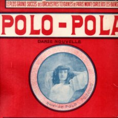 Partituras musicales: MABILLE : POLO POLA (HYAMS, NICE, 1906). Lote 171227887