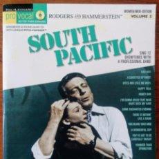 Partituras musicales: SOUT PACIFIC, MUSICAL, PARTITURA Y ACOMPAÑAMIENTO PIANO CD.. Lote 171292992