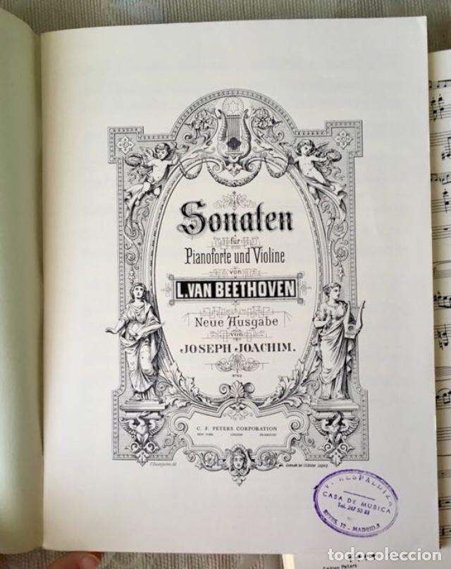 Partituras musicales: Beethoven sonaten klavier und violine - Foto 3 - 171704129