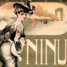 Partituras musicales: ALDRICH : NINUS (MUSICAL EMPORIUM, 1904) . Lote 171790218