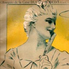 Partituras musicales: GOMÁ : CHANSON DE MANON (DOTESIO) OBSEQUIO DE LA CASA DUCH Y ROBEDA - MELILLA. Lote 171790509