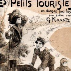 Partituras musicales: KRANTZ : LES PETITS TOURISTES - SIX DANSES FACILES (MUSICAL EMPORIUM) CUBIERTA DE A. UTRILLO. Lote 171790877