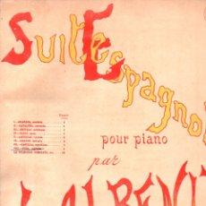 Partituras musicales: ALBENIZ : SUITE ESPAGNOLE - CUBA (DOTESIO). Lote 171792013
