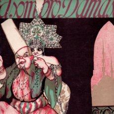 Partituras musicales: PASO, ABATI Y LUNA : EL ASOMBRO DE DAMASCO DÚO DE TOBEIDA Y GRAN VISIR (UNIÓN MUSICAL, 1917). Lote 171793225