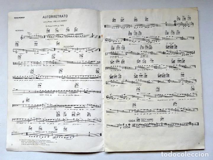 Partituras musicales: LIBRO DE PARTITURAS DEL GRUPO TOPO - 1979 - PRIMER DISCO DE TOPO - DISCORAMA - RARO Y ESCASO - Foto 3 - 171798522