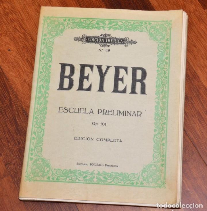 Partituras musicales: 8 LIBROS DE PIANO - CZERNY - WIRD - BEYER - HELLER - CRAMER - Foto 2 - 173942009