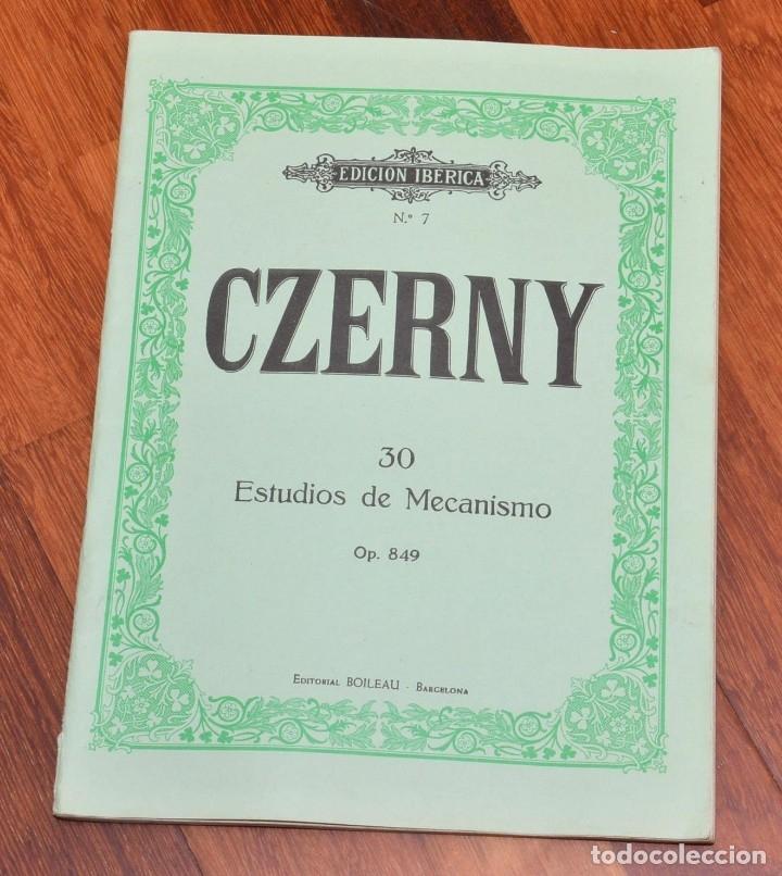Partituras musicales: 8 LIBROS DE PIANO - CZERNY - WIRD - BEYER - HELLER - CRAMER - Foto 4 - 173942009