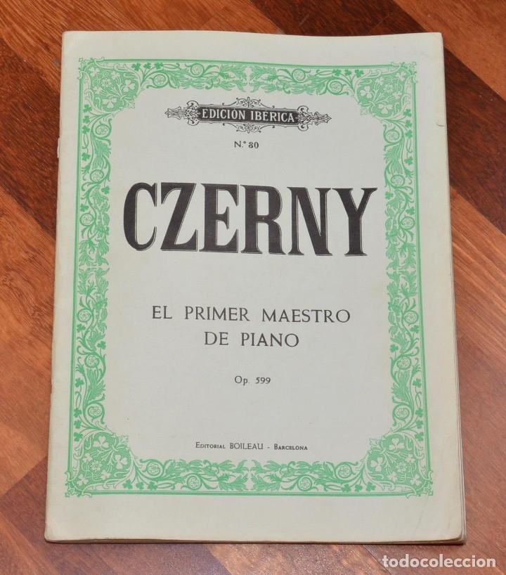 Partituras musicales: 8 LIBROS DE PIANO - CZERNY - WIRD - BEYER - HELLER - CRAMER - Foto 5 - 173942009