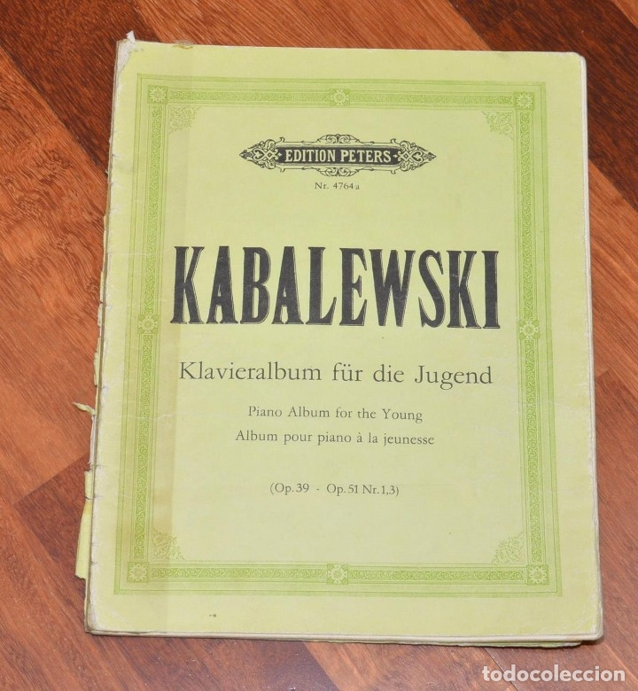 Partituras musicales: 8 LIBROS DE PIANO - SCHUMANN - BACH - KABALEWSKI - ENRIQUE HERZ - KOHLER - Foto 2 - 173942165