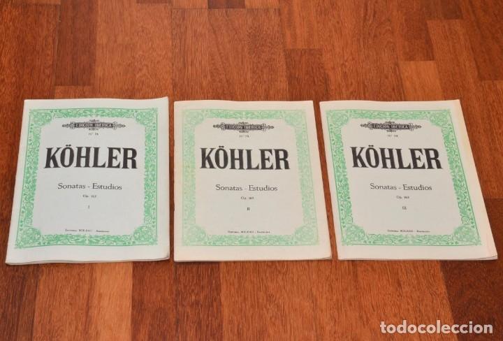 Partituras musicales: 8 LIBROS DE PIANO - SCHUMANN - BACH - KABALEWSKI - ENRIQUE HERZ - KOHLER - Foto 5 - 173942165