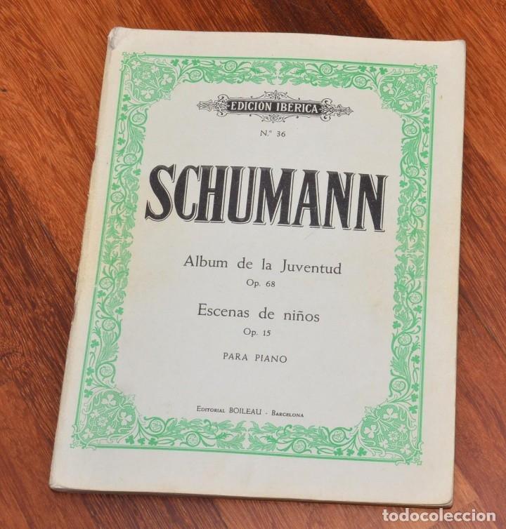 Partituras musicales: 8 LIBROS DE PIANO - SCHUMANN - BACH - KABALEWSKI - ENRIQUE HERZ - KOHLER - Foto 6 - 173942165
