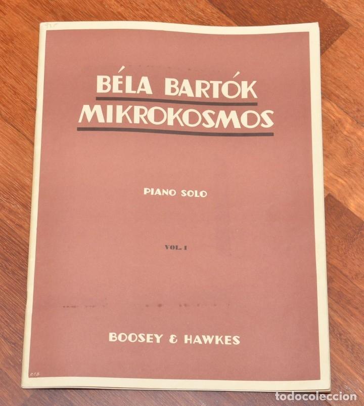 Partituras musicales: 3 LIBROS DE PIANO - BELA BARTOK - TOMAS BUXO - MOZART - Foto 3 - 173942289