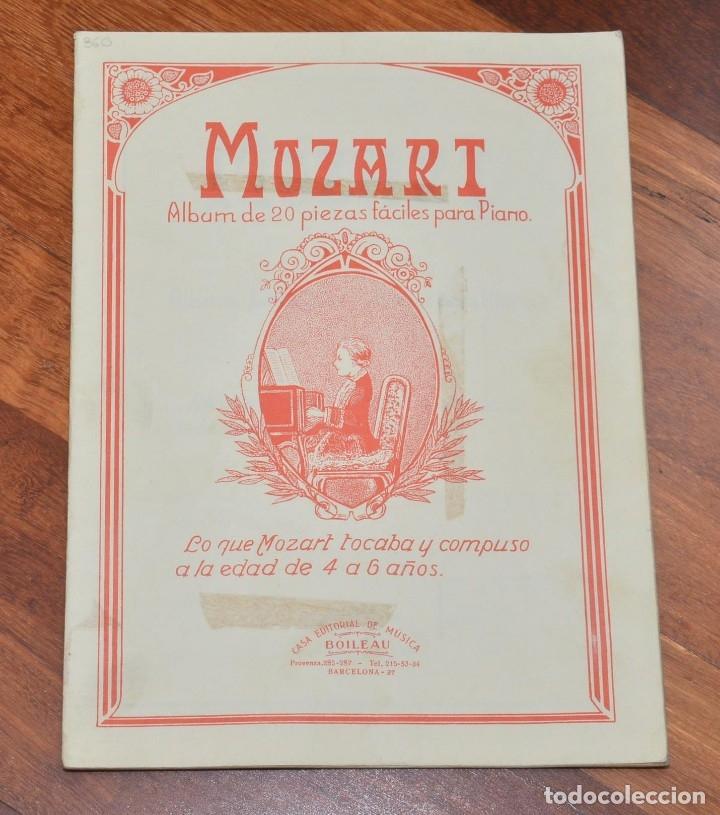 Partituras musicales: 3 LIBROS DE PIANO - BELA BARTOK - TOMAS BUXO - MOZART - Foto 5 - 173942289