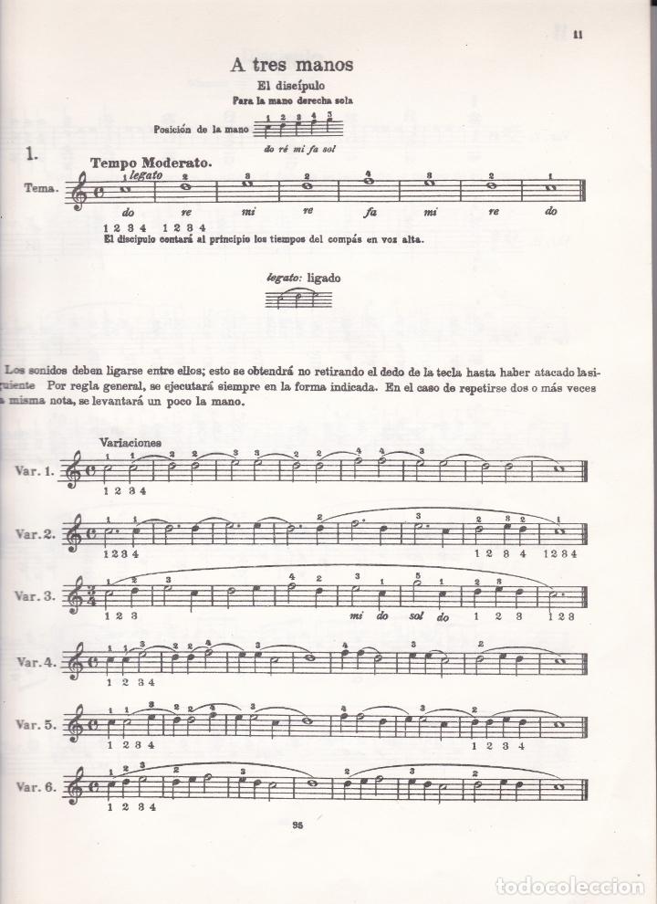 Partituras musicales: EDICION IBERICA Nº 49 - BEYER ESCUELA PRELIMINAR - OP 101 - EDITORIAL BOILEAU - Foto 2 - 174139640