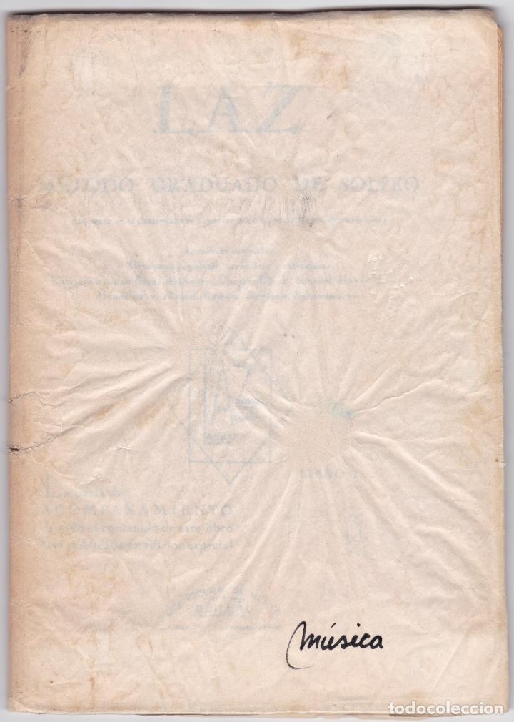 Partituras musicales: LAZ - METODO GRADUADO DE SOLFEO - LIBRO I - EDITORIAL BOILEAU - Foto 6 - 174140169