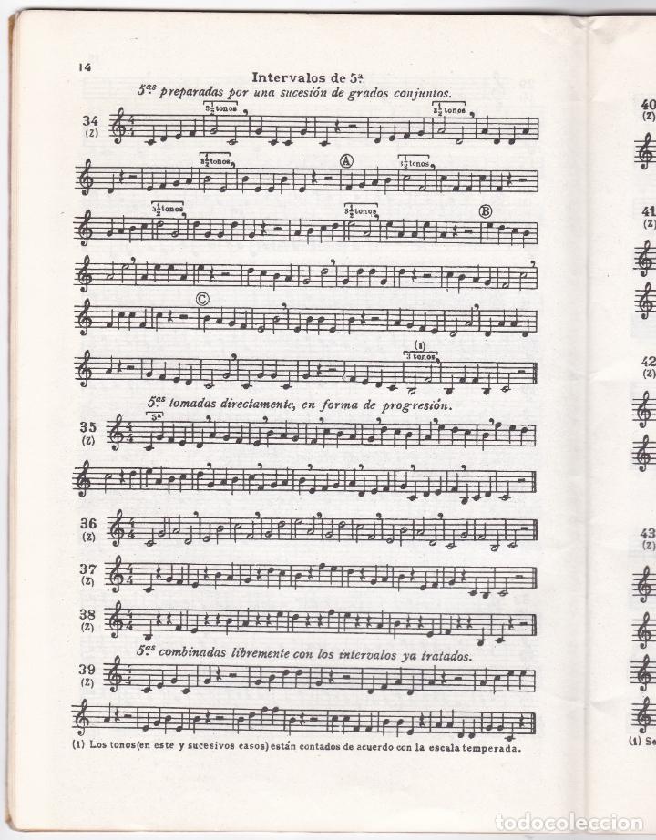 Partituras musicales: LAZ - METODO GRADUADO DE SOLFEO - LIBRO I - EDITORIAL BOILEAU 1968 - Foto 3 - 174140778